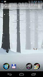 winter snowfall live wallpaper free