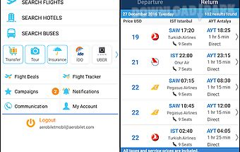 Aerobilet - flights, hotels