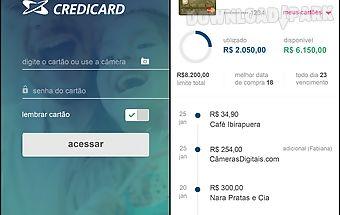 Credicard controle seu cartão