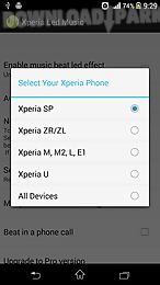 led music for xperia