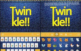 Twinkle kika keyboard theme