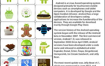 Updates for android (info)