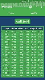 muslim salat times