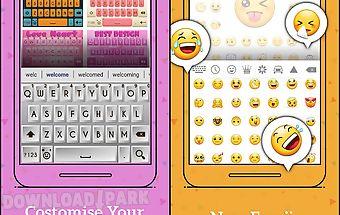 Smart emoji keyboard