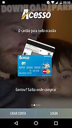 acesso - minha conta