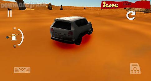 car drift desert