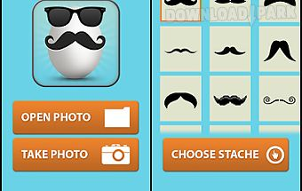 Mustache booth