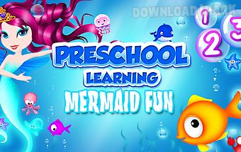 Preschool learning mermaid fun