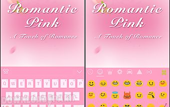 Romantic pink theme -ikeyboard