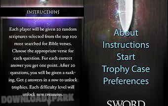 Sword of the spirit bible game