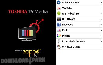 Toshiba tv media player