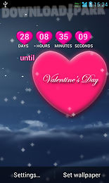 2016 valentine live wallpaper