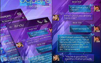 Go sms pro square theme