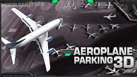 aeroplane parking 3d