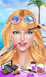 fashion girls pool party salon