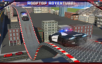 Police car rooftop training