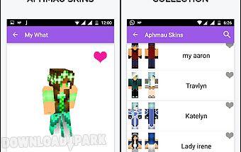 Skins for minecraft - aphmau