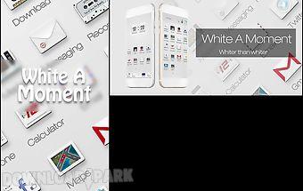 White a moment go theme