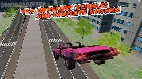 Car crash test simulator 3d Android Game free download in Apk