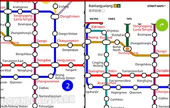 Osaka subway map Android App free download in Apk