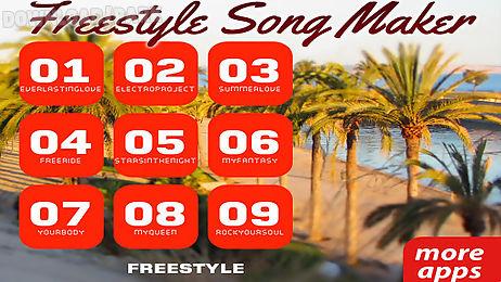 freestyle free music maker app