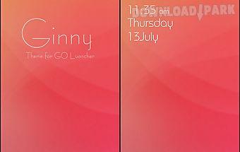 Ginny go launcher theme