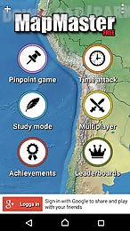 mapmaster free -geography game