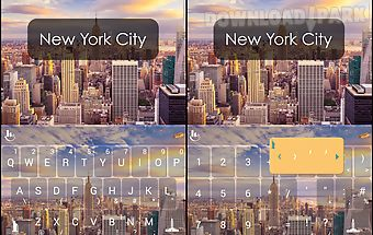 New york city keyboard theme