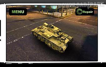 Simulator crush war car