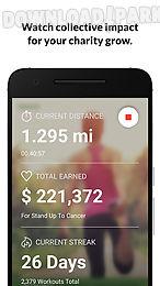 charity miles walk&run tracker