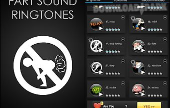 Funny fart sound ringtones