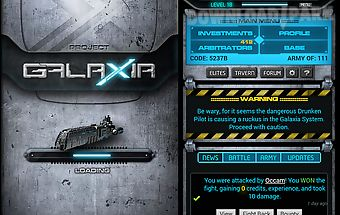Project galaxia