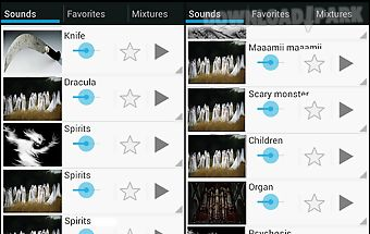 Scary sounds (ringtones)