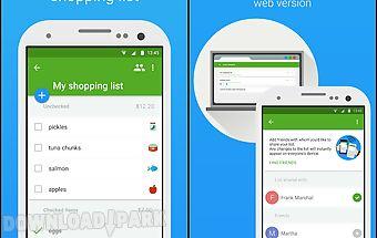 Smart shopping list - listonic