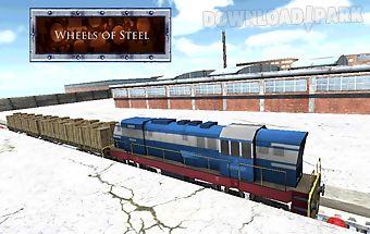 Wheels of steel – 3d train sim