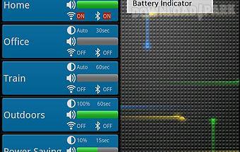 Battery meter & saver