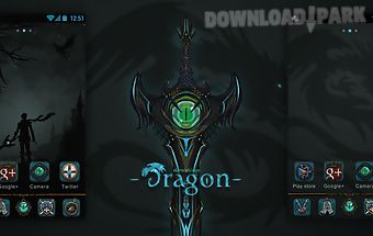 Dragon go launcher theme