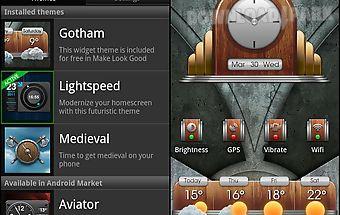 Make look good - widget themes
