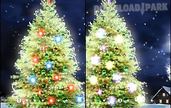New years tree live wallpaper