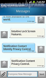 quicktouch text messaging