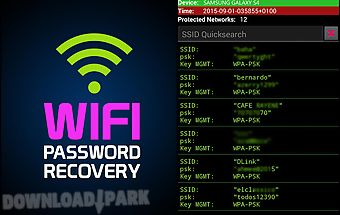 Wifi password recovery prank