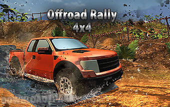 Suv 4x4 offroad rally driving
