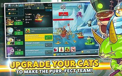 tap cats: idle warfare