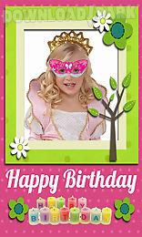 birthday photo frames and accessories