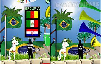 Brazil supporter 2014 app