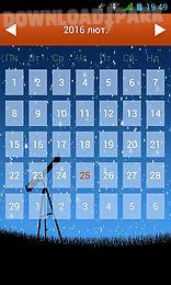 haircut calendar