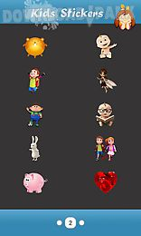 kids theme -cute stickers
