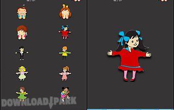 Kids theme -cute stickers
