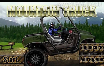 Mountain truck-racing games