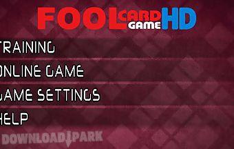 Russian fool card game hd free